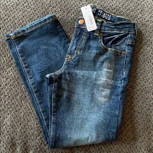 Boys Gymboree straight leg jeans